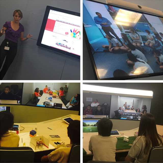 Highlights from the Madrid Chapter's Program Escuela event. Students listened to presentations on technology to help them create their own innovations.