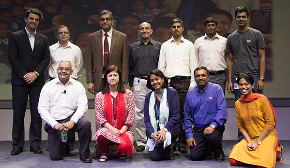 Image of Shannu Kaw with the Civic Council