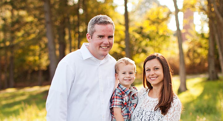 Image of Jared Edens and family